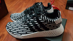 Adidas NMD R2 Black/White Size 8 & 10.5