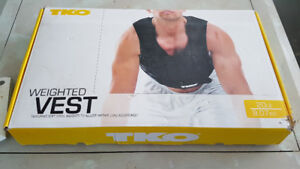 WEIGHTED WORKOUT VEST 20 LBS