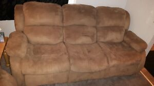 Recliner Love Seat /Sofa - Leather Love Seat & Sofa