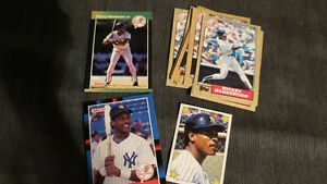 Rickey Henderson MLB cards(14)