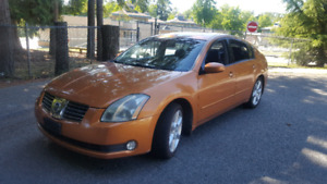 2004 Nissan maxima SE FULLY LOADED