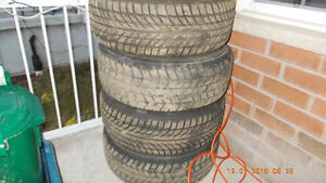 4 set of Winter Tires for $350 Kitchener / Waterloo Kitchener Area image 1
