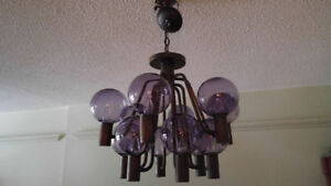Hans-Agne Jakobsso Swedish Chandelier $595