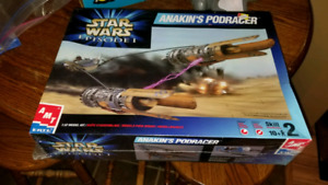 Star Wars Episode 1 AMT Ertl model kit Anakins Podracer