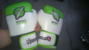 Hayabusa Sport 12oz and Century Drive  14 oz Training gloves