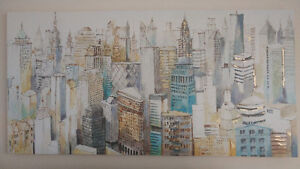 Beautiful New York City landscape painting
