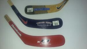 Palette de hockey pour gaucher/droitier