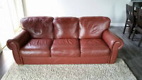 Leather Couch for Sale.  OBO