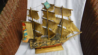 MODEL SHIP USS CONSTITUTION 16 inch