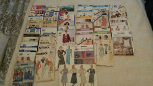 45+  Sewing Patterns 60's-2000's Simplicity Butterick McCalls...