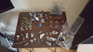 Warhammer Chaos Daemons and codex with misc, SWORDS/AXES/STAFF