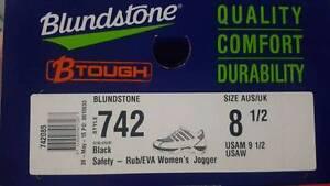 Blundstone black women's safety joggers Redland Bay Redland Area Preview
