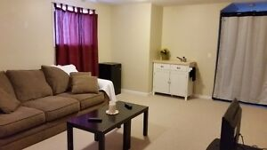 Furnished 1 bed suite avail April 1