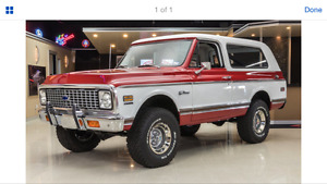 K5 Blazer Wanted