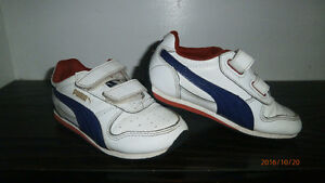 Puma toddler size 8 runners