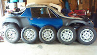 Porsche 914 parts ,rims spacer adapters reflector, bumper