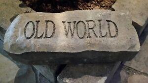 OLD WORLD BLOCK