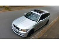 RARE BMW 325D M SPORT TOURING 3.0 AUTO PANROOF 65300 MILES HIGH SPEC NOT 330D