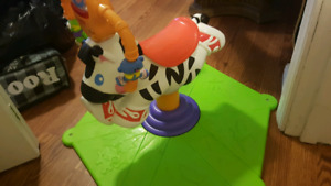 Zebra baby toy