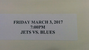 Jets VS Blues