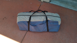6 person tent with poles