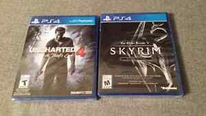 PS4 Games Uncharted Skyrim