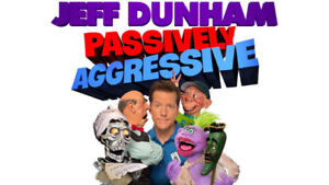 Jeff Dunham, Abbotsford Event Center. Two Tickets Great Seats.
