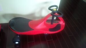 plasma car, red