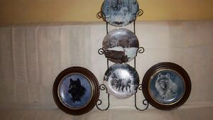 "Wolf Art, Bradford Exchange ""Collectable Fine Porcelain Plates Kitchener / Waterloo Kitchener Area image 3"
