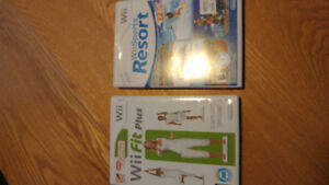 Wii avec tapis wii fit