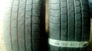 Lots of pairs of R18 car,SUV and Truck tires (editedwhen