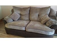 Sofa suite 3+2+stool £130 only