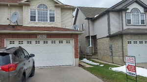 Well maintained Semi-Detached in Kitchener with 4 Car Parking