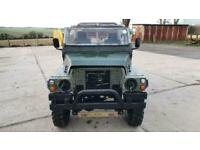 Land Rover lightweight Series 3. Petrol. Runs really well. Good solid chassis.