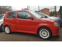 2005 05 Suzuki Ignis 1.5 VVT Sport 2dr 99000MLS SERV HIST MOT 13/03/17 ONLY £695