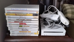Wii system & games