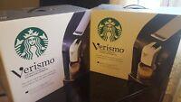 Unopened Starbucks Verismo Machines Brand New!