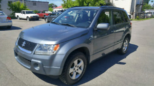 2007 Suzuki Grand Vitara, 120000km V6 2.7L, 4x4 (VERY CLEAN CAR)