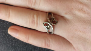 Diamond hearts ring (SSIL Open Hearts by Jane) - Kay Jewelers
