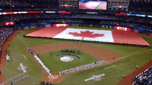 Toronto Blue Jays Tickets vs Washington Premium Dugout & Uppers