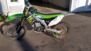 2012 KX450f . Will trade for sport quad 600cc or larger