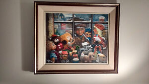 VERY COLLECTABLE PAINTING BY Gordon Roache