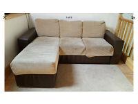Sofa bed Holl 3 Seat Chaise Sofa corner sofa