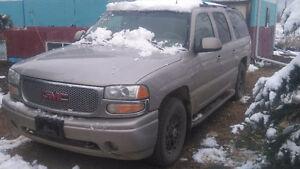 UPDATED 2004 GMC Yukon DENALI XL SUV,