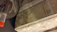 Comfortable Queen Sized Matress + Boxspring and Frame for free
