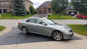 2006 Infiniti G35x Navigation Package Sedan