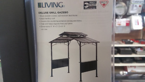 Deluxe All Metal Barbecue Gazebo