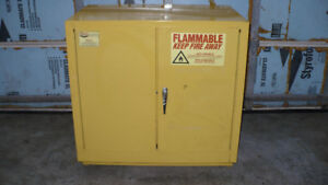 Flammable safety cabinet (floor/ under bench model)