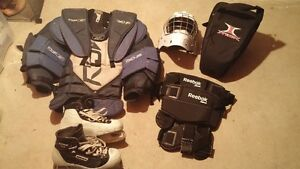 Goalie Equipment - sold separately or all together
