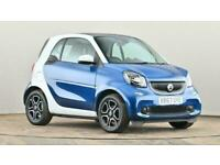 2017 smart fortwo coupe 0.9 Turbo Prime Premium 2dr Auto Small petrol Automatic